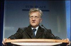 Jean Claude Trichet president de la BCE