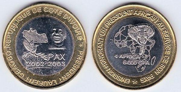 Franc CFA de Côte d'Ivoire